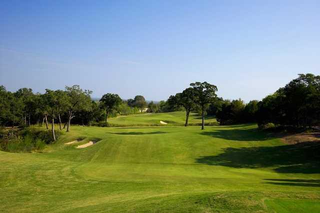 A view of a fairway at Wolfdancer Golf Club