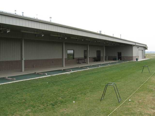 A view of the driving range at Legends of Champaign