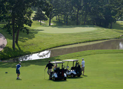 A view from Bear Creek Valley Golf Club