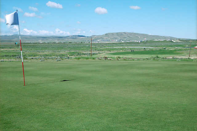A view of a hole at Rochelle Ranch Golf Course