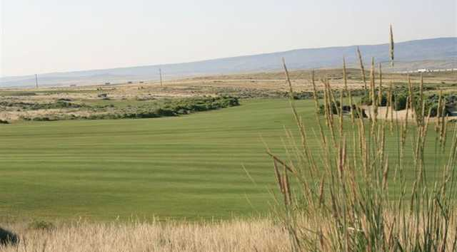 A view of a fairway at Rochelle Ranch Golf Course (WyomingTourism)