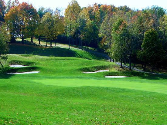 A view from Deer Ridge Golf Club
