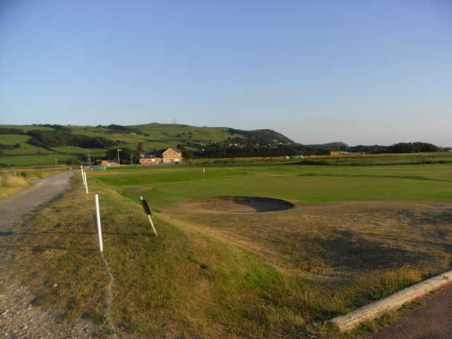 Prestatyn GC: View from #6 (Phil Round)