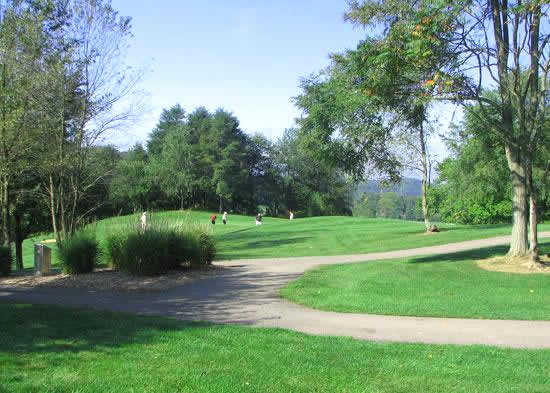 A sunny view from Deer Ridge Golf Club