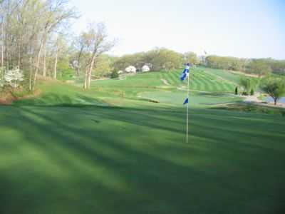 A view of a green at Sycamore Creek Golf Club