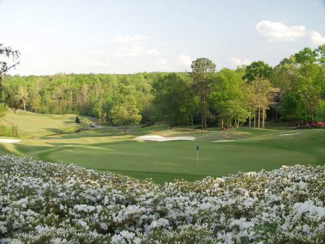 A view of green #11 at Wisteria Course from Woodside Plantation Country Club