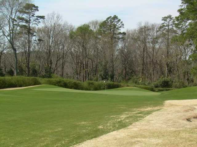 A view of a green at Palmetto Golf Club
