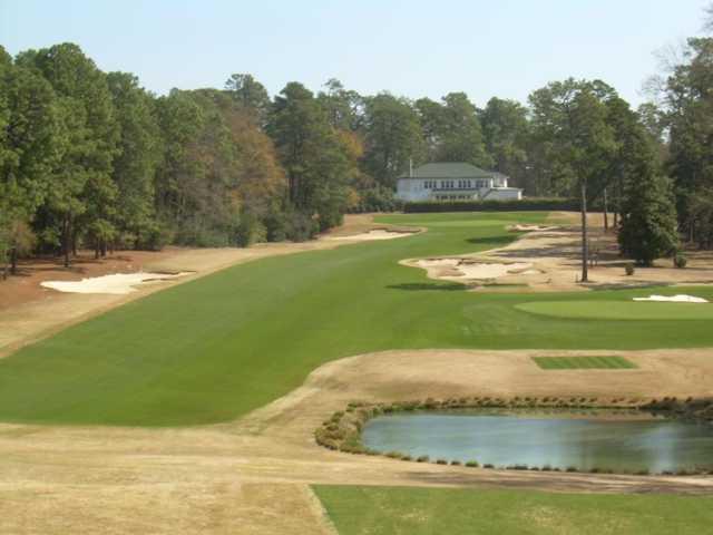 A view of a fairway at Palmetto Golf Club