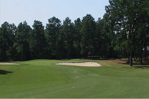 A view from a fairway at Midland Valley Country Club