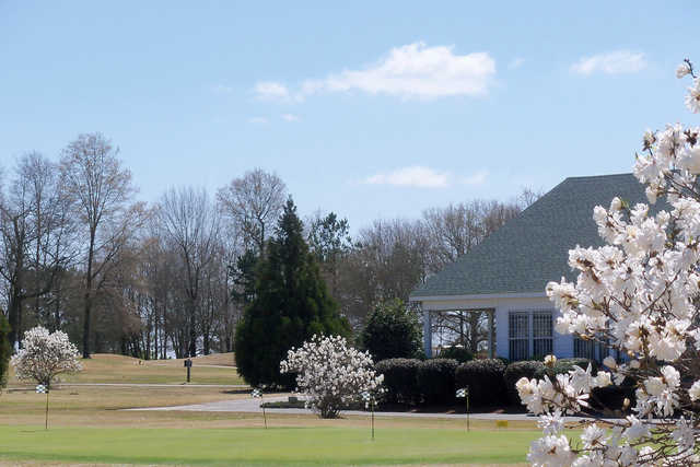 A spring view from Applewood Golf Course