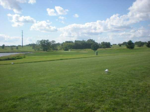 A view of a tee at Warrior Run Golf Course