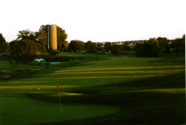 A view from Broken Arrow Golf Club