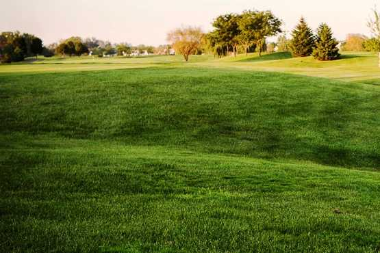 A view of a fairway at Broken Arrow Golf Club