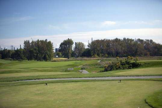 A view from a tee at Lost Marsh Golf Course