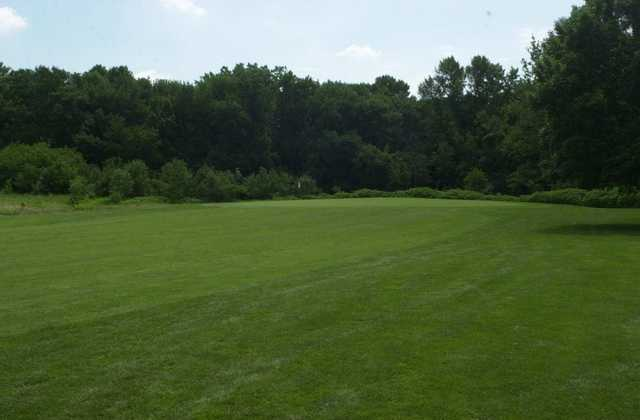 A view from the right side of a fairway at Billy Caldwell Golf Course