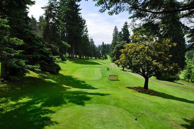 A view from tee #9 at Tam O'Shanter Golf Course.