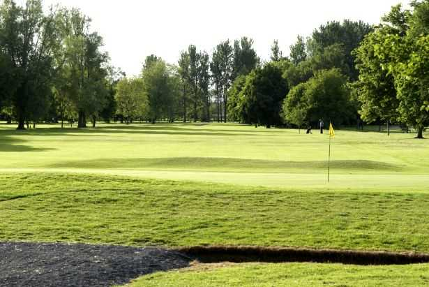 A view of hole #12 at Portadown Golf Club