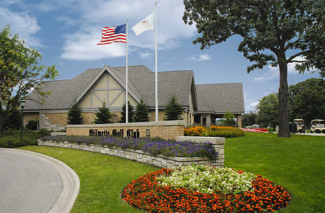 Wilmette GC: clubhouse