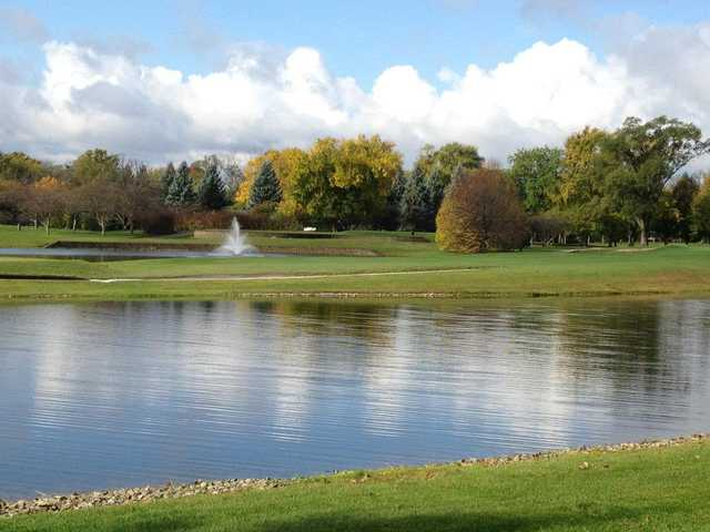 A view over the water from Glenview Park Golf Club