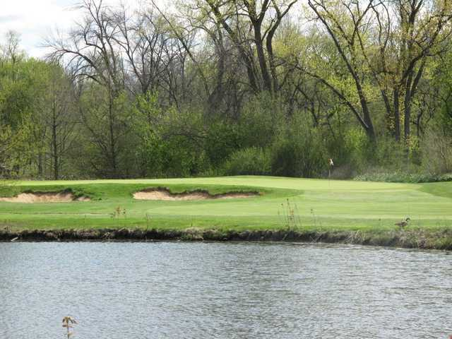Winnetka Golf Club: A view of the 14th green