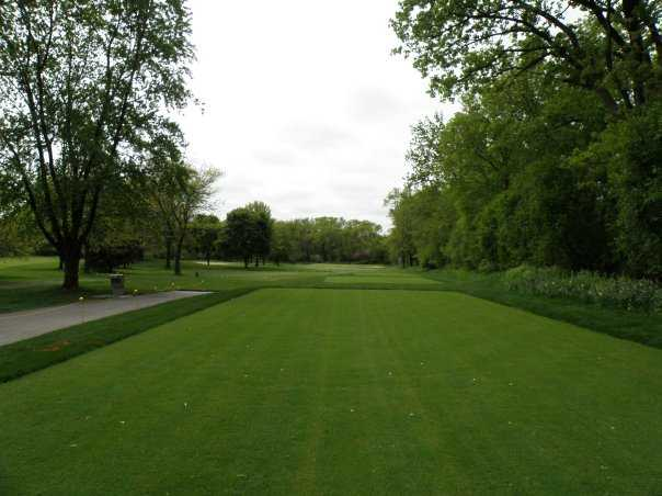 Winnetka Golf Club: A view from the 17th tee