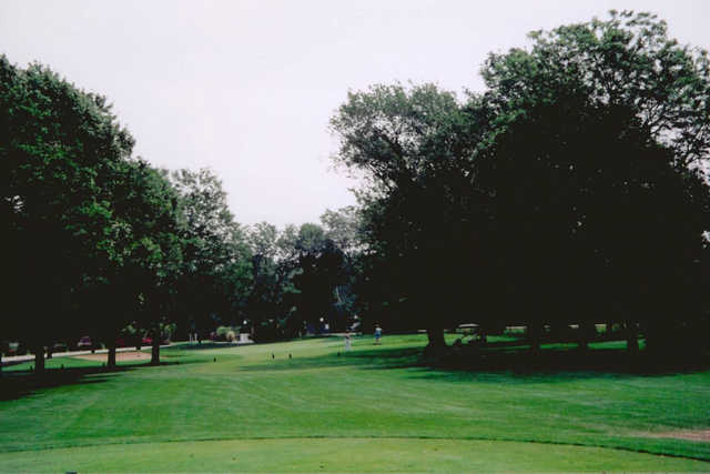 A view from Oak Hills Country Club