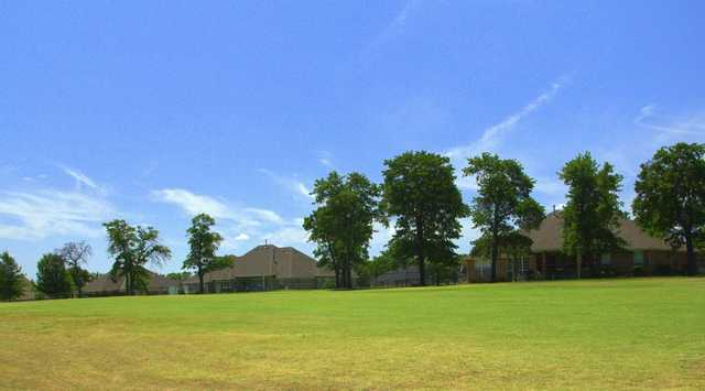A view of a fairway at Choctaw Creek Golf Course