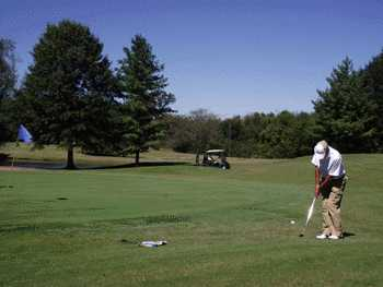 A view of the 1st hole at Nine Hole from Eastland Green South (Nashville-Now-Golf)