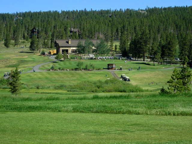 A view from a fairway at Pole Creek Golf Club