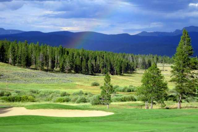 A view from Pole Creek Golf Club