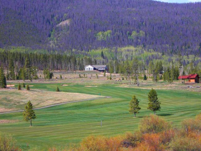 A view of a fairway at Pole Creek Golf Club
