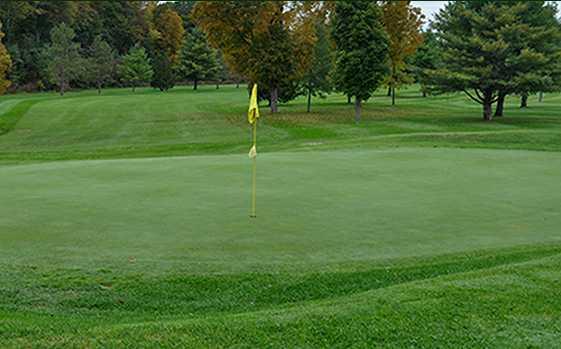 A view of hole #1 at Montague Golf Club (Jessica Poljacik)