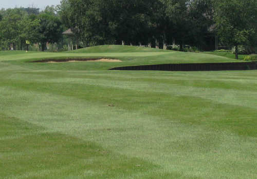 A view from Streamwood Oaks Golf Club