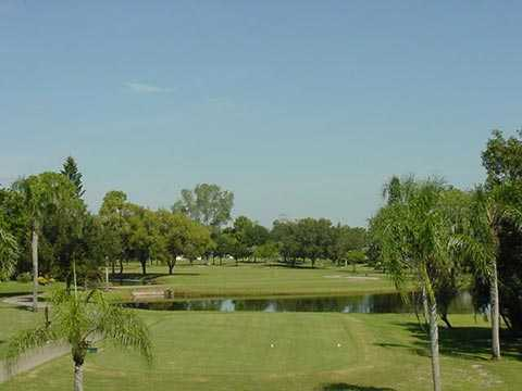 A view from the 10th tee at Riviera Golf Club
