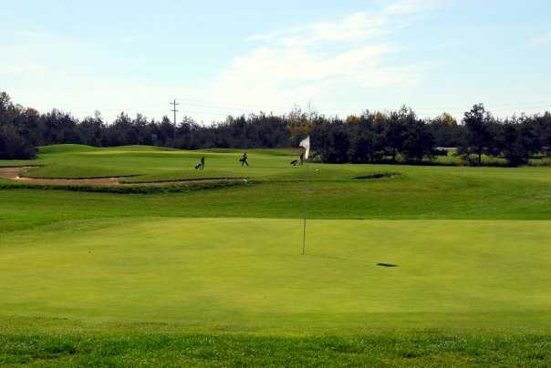 A view of a green at Northern Dunes Golf Club