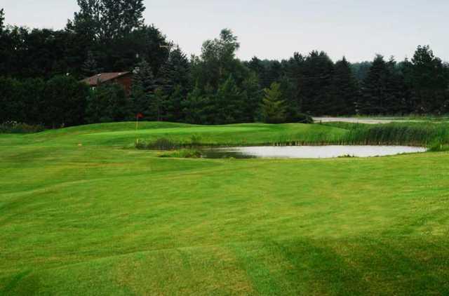 A view from a fairway at Fergus Golf Club