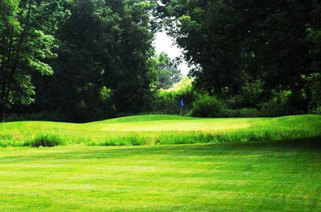 A view of a green at Fergus Golf Club