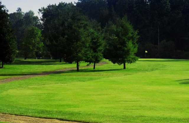 A view from a fairway at Acton Golf Club