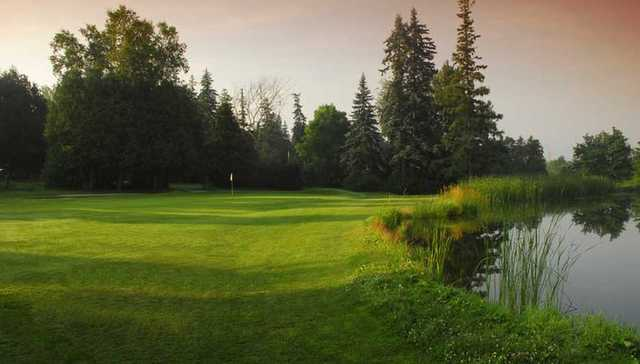 A view from a fairway at Orangeville Golf Club