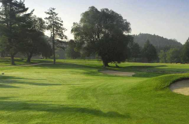 A view from Orangeville Golf Club