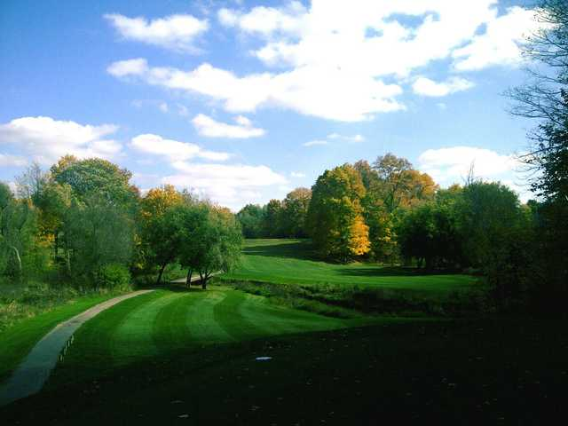 A view from a tee at Brant Valley Golf Course