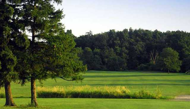 A view of a fairway at Scenic Woods Golf and Country Club