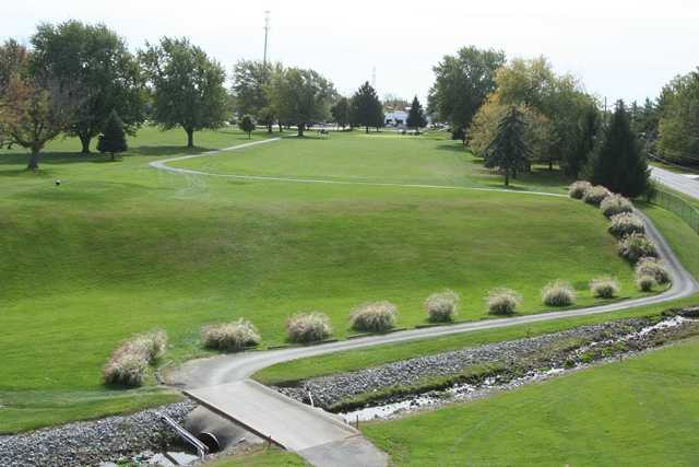 A view of the 1st fairway at Kokomo American Legion Golf Course