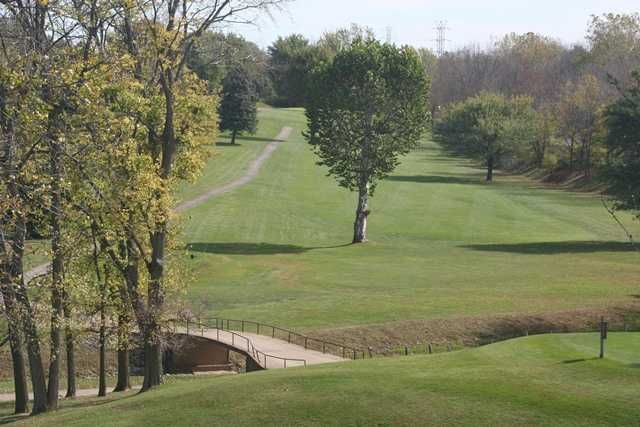 A view of the 4th fairway at Kokomo American Legion Golf Course