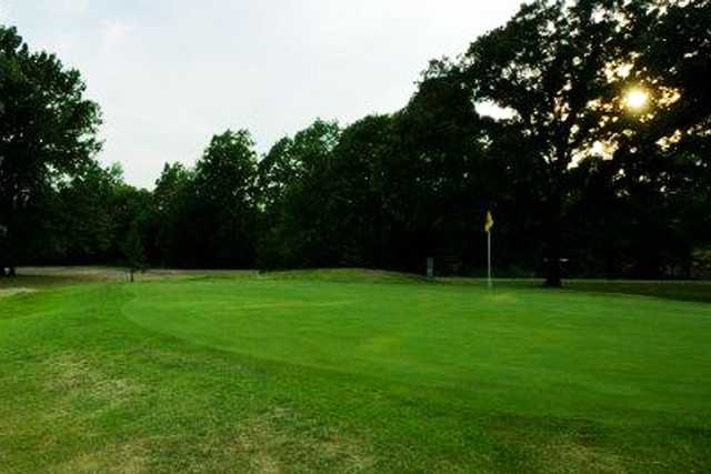 A view of a hole at Sullivan Golf Club