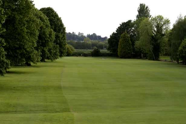 A view from fairway 16th at Portadown Golf Club, known as Fairy Hollow.