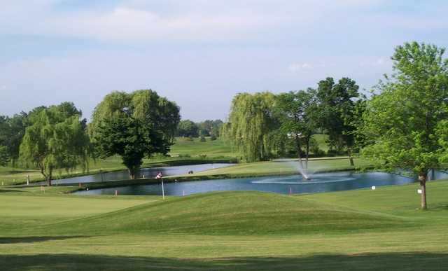 View from Veteran's Memorial Golf Course