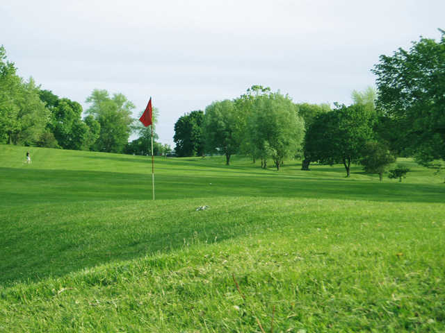 A view of a hole at Willow Run Golf Course