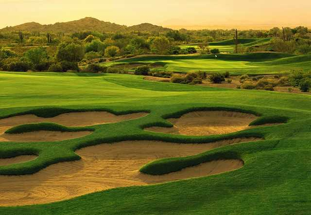 Golf Club of Estrella: View from no. 13 (©2000 Lonna Tucker)
