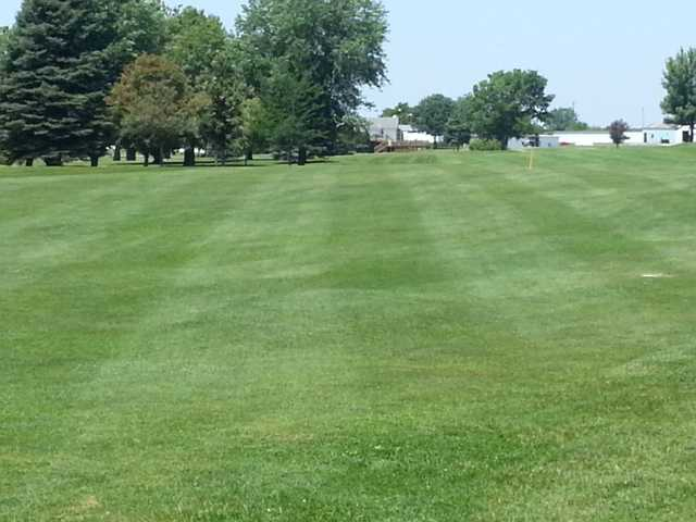 A view of a fairway at Wahkonsa Country Club